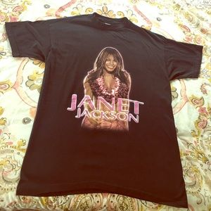 Janet Jackson Vintage / All for You Tour Tee XL